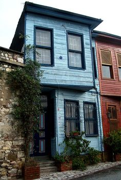 Istanbul, Wooden Houses, Turkey by David, via Flickr