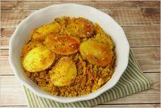 Persian Quinoa with Tadiq