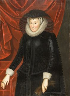 Lady Mary Waters Honeywood (1527-1620), Johnson van Ceulen, Gift of Mr. and Mrs. James MacLamroc