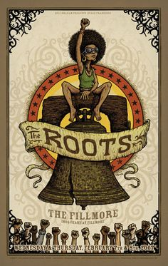 Saw the Roots at the Filmore when I was living in San Francisco!!! It was CRAZY!!!