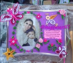 Portaretratos personalizado. #recuerdos #filigranapapel #regalosespeciales