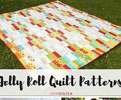 45 Free Jelly Roll Quilt Patterns + New Jelly Roll Quilts