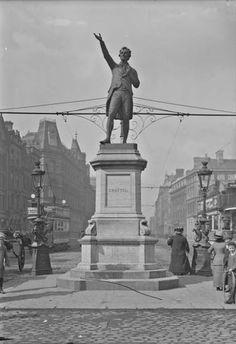Grattan Statue on College Green, Dublin