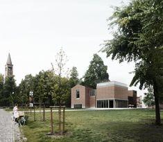 1st Prize Öffentliche Bauten: Blick aus dem Parco Delle Basiliche