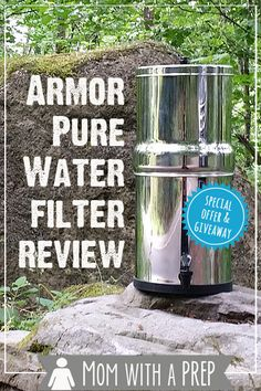 Mom with a PREP -- looking for a large water filter system for your family that does not break the budget? - GIVEAWAY + SPECIAL OFFER