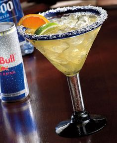 bull rita. my two favorite things: red bull and tequila :)