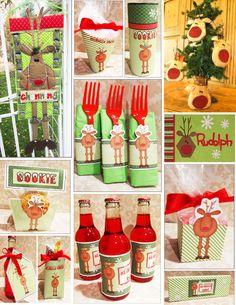 Reindeer : Parties and Patterns, Fun ideas grow here!