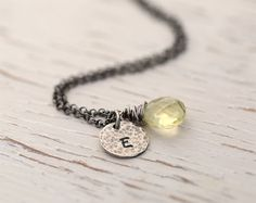 Hey, I found this really awesome Etsy listing at https://www.etsy.com/listing/195528881/personalized-necklace-bridesmaids