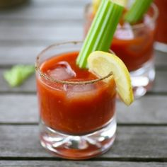 Spicy Virgin Mary - gives a satisfying kick