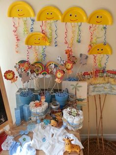 Noahs Ark baby shower ideas