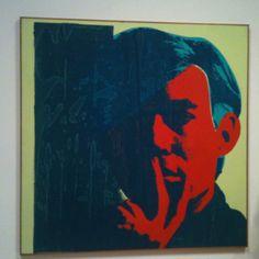 Warhol self portrait sfmoma - love him