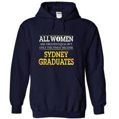 Sydney Graduates (Women) T Shirts, Hoodies Sweatshirts. Check price ==► http://store.customtshirts.xyz/go.php?u=https://www.sunfrog.com/Funny/Sydney-Graduates-Women-NavyBlue-Hoodie.html?41382