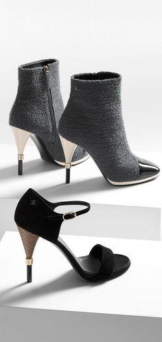 Short boots, tweed &