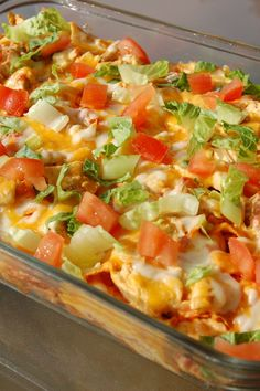 Mexican food recipes 37436240640001454 - Emily's Excellent Taco Casserole Hotdish Recipes, Easy Casserole Recipes, Casserole Dishes, Mexican Chicken Casserole, Chicken Dorito Casserole Recipe, Taco Bake Casserole, Loaded Baked Potato Casserole, Casserole Ideas, Cornbread Casserole