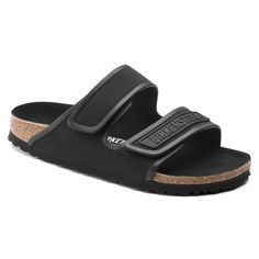 BIRKENSTOCK Delft Micro Fibre Black in all sizes ✓ Buy directly from the manufacturer online ✓ All fashion trends from Birkenstock Delft, Black Birkenstock, Birkenstock Style, Two Strap Sandals, Men's Sandals, African Attire For Men, Calf Muscles, Birkenstocks, Shopping