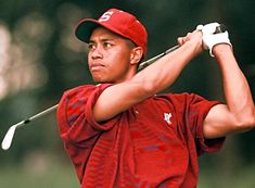 Tiger Woods, will always remember seeing him chip in on the 16th hole at the masters 2005 with my family in the states. http://www.youtube.com/watch?v=IkVDrULXH7c