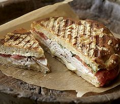 Panera Bread Restaurant Copycat Recipes: Turkey and Provolone Panini