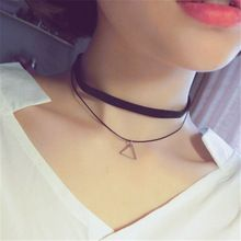 """Gorgeous 42/"""" long BLACK bead layered choker collar style statement necklace"""