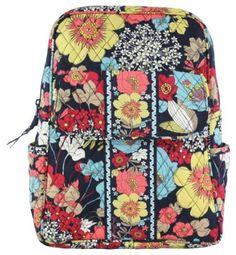 Amazon.com: Vera Bradley Backpack (Deco Daisy): Clothing