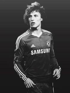 David Luiz - zagueiro Brasileiro para o Chelsea e vice-capitão da seleção de futebol do Brasil
