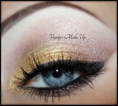 Sparkly Gold!