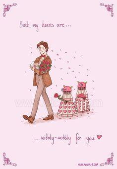 harry potter LOL doctor who doctorwho star wars Fanart dalek Death Star hermione The Avengers dr who cards valentines doctor avengers valentines day Who Hobbit valentines day card redbubble king kong art for sale st valentines Doctor Who Valentines, Nerdy Valentines, Funny Valentine, Valentine Day Cards, Valentine Ideas, Nerd Love, Eleventh Doctor, Dalek, Funny Love