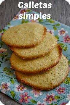 Galletas de limon (muy fáciles)