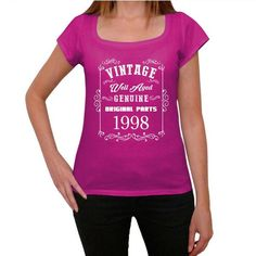 #vintage #well #aged #pink #tshirt  A girl can never have enough pink tees, right? Pick the best present here! --> https://www.teeshirtee.com/collections/vintage-well-aged-womens-t-shirt-pink/products/1998-well-aged-pink-womens-short-sleeve-rounded-neck-t-shirt-100-cotton-available-in-sizes-xs-s-m-l-xl