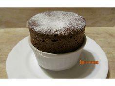 Soufflés au chocolat Dessert Original, Muffin, Pudding, Breakfast, Food, Gourmet, Chocolate Souffle, Original Recipe, Eggs