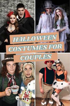 Halloween is one of the most popular and fun holidays of the year! You're probably planning to go a Halloween party this year so why not go with your favorite person? If you have no clue what couples costume you can wear this year don't worry, in this post we're going to show you 31 trendy Halloween costumes for couples.