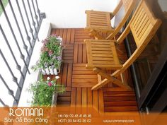 Wood Deck Tiles, Porch Swing, Outdoor Furniture, Outdoor Decor, Garden Bridge, Outdoor Structures, Flooring, Decking, Balcony