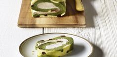 A sweet and delicate dessert recipe that uses matcha green tea powder and chestnut purée.