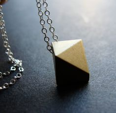 Angular Necklace.