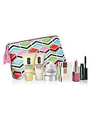 Clinique 7-piece Free Gift with $27.50 Purchase at Lord & Taylor - details at MakeupBonuses.com #Clinique #LordTaylor #GWP