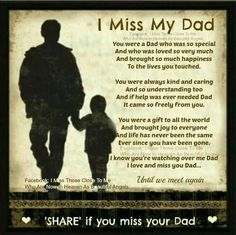 missing my dad in heaven quotes Miss You Daddy, My Daddy, Missing Daddy, Missing My Dad Quotes, Daddy Daughter Quotes, Quotes About Dads, Missing Dad In Heaven, Miss You Dad Quotes, My Dad My Hero