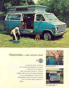 Chevrolet Camper Bliss #camper #camping #van #volkswagen #vw #outdoors