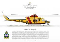 """AB-412SP """"Griffon"""" SAR LW-16"""