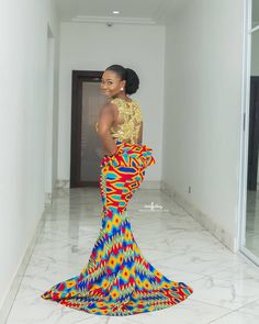 Get ready to be blown away with these latest kente styles with colourful Ghanaian kente … African Dresses For Kids, African Lace Dresses, Latest African Fashion Dresses, African Print Fashion, Africa Fashion, African Traditional Wedding Dress, African Fashion Traditional, African Wedding Attire, African Attire