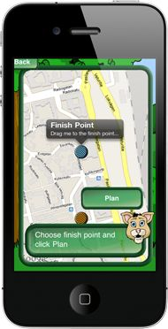 Treesure is a mobile game which activates your family to exercise together. Choose a fairy tale character, draw a route on the map and start the adventure. Treesure turns every day routines into a fun adventure!