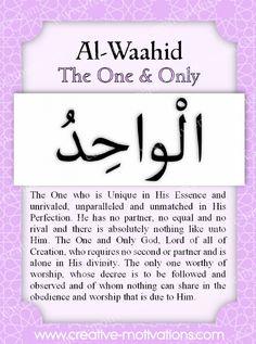 40-Al-Waahid