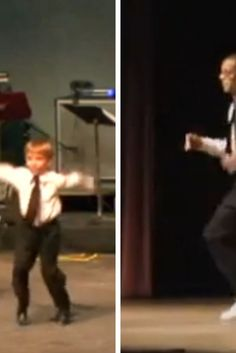 Young Boy And Professional Dancer Perform Insane Tap Dance Show In Unison