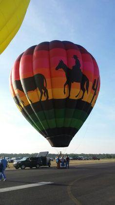 Hot air balloon- Horseshoe Bay TX