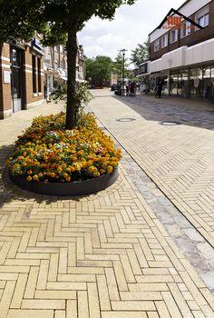 Thesis, Sidewalk, Roof Tiles, Pavement, Baking Stone, Yellow, Architecture, Side Walkway, Walkway