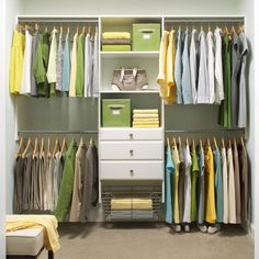 How To Double Your Storage Without Building a New Closet