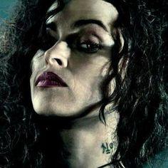Neck tattoo bellatrix lestrange Harry potter