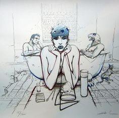 Enki Bilal - Bleu Sang