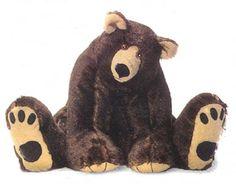 Rumbles, Teddy Bear Patterns, Large Floppy Teddy Bear Patterns, Bunny, Cloth Dolls, Stuffed Animal Patterns, by Judi Lynn Designs.