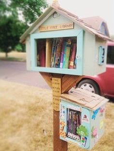 Little Free Library - What a great idea ♥