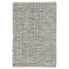 Test drive this rug in your space.Order a swatch by adding it to your cart.Indigo, grey, and ivory yarns are mixed and woven together to create the unique marled effect of this woven cotton area rug, a perfect fit for the bedroom, office, living room, or stairs.