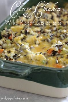 Pinner said: This was so good. I made it for a friend who had a baby. Yummy!  Simple Dinner Casseroles! - Picky Palate